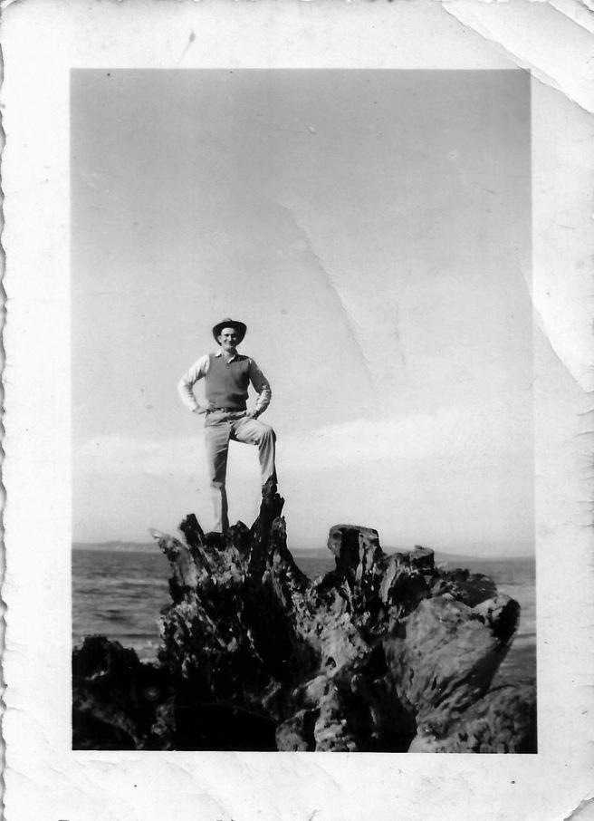 Billie Joe Rudd at Puget Sound, Washington (Abt. 1949)