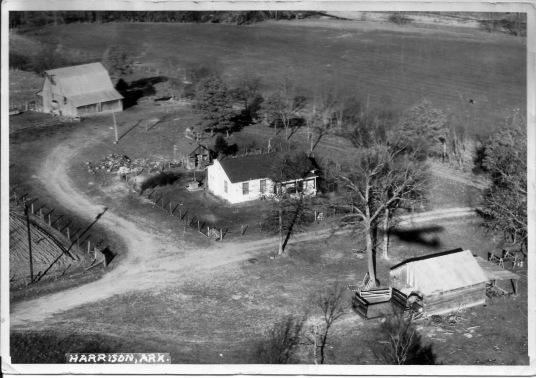 Olney App Rudd, Farm at Denver, Arkansas (Bet. 1960 and 1965)