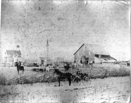 William Mann Rudd's Ranch near Springerville, Arizona (Aft. 1880)